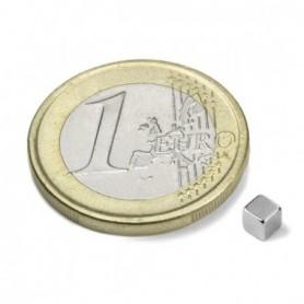 Magnet W-03-N Kubmagnet 3mm