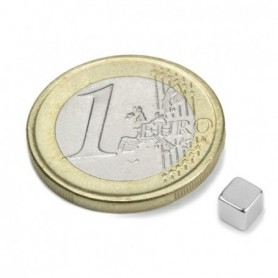 Magnet W-04-N Cube magnet 4mm
