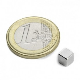 Magnet W-05-N Cube magnet 5mm