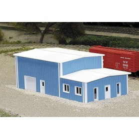Pikestuff 8017 Kontor och Varushus, blå