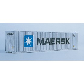 "Walthers 8801 Container 40' Hi Cube Ribbed Side Container ""Maersk"""