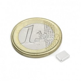 Magnet Q-05-04-1.5-N Block magnet 5x4x1,5mm