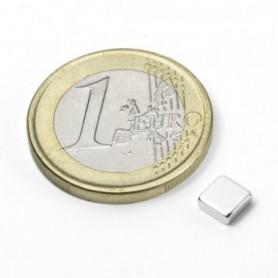 Magnet Q-05-05-02-N Blockmagnet 5x5x2mm