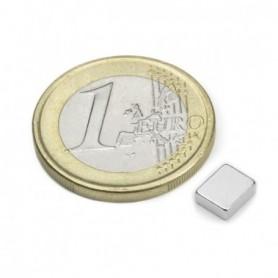 Magnet Q-06-05-02-HN Block magnet 6x5x2mm