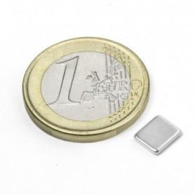 Magnet Q-07-06-1.2-N Block magnet 7x6x1,2mm