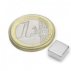 Magnet Q-08-08-04-N Blockmagnet 8x8x4mm