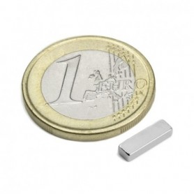 Magnet Q-10-03-02-HN Block magnet 10x3x2mm