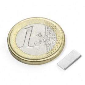 Magnet Q-10-04-01-N Block magnet 10x4x1mm