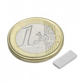Magnet Q-10-04-1.2-N Block magnet 10x4x1,2mm