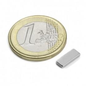 Magnet Q-10-04-1.5-N Block magnet 10x4x1,5mm