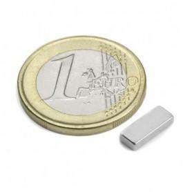Magnet Q-10-04-02-N Blockmagnet 10x4x2mm