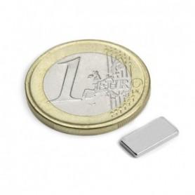 Magnet Q-10-05-01-N Blockmagnet 10x5x1mm