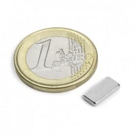 Magnet Q-10-05-1.5-N Block magnet 10x5x1,5mm