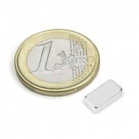 Magnet Q-10-05-03-N Block magnet 10x5x3mm