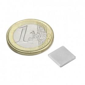 Magnet Q-10-10-01-N Blockmagnet 10x10x1mm