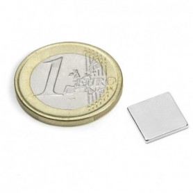 Magnet Q-10-10-1.2-N52N Block magnet 10x10x1,2mm