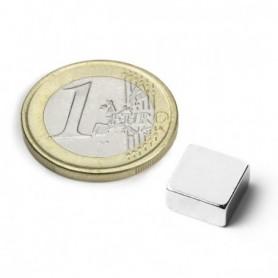 Magnet Q-10-10-03-N Blockmagnet 10x10x3mm