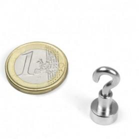 Magnet FTN-10 Magnet med krok, diameter 10mm