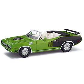 Ricko 38083 Plymouth Hemi Cuda 1971, Sassy-Grass Green, PC-Box