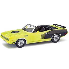 Ricko 38183 Plymouth Hemi Cuda 1971, Curious Yellow, PC-Box
