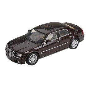 Ricko 38662 Chrysler 300C Hemi SRT8, metallic röd, PC-Box