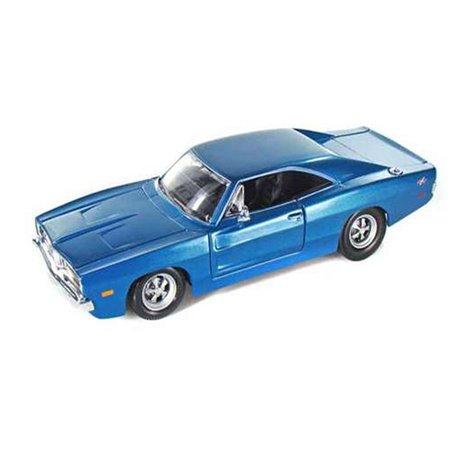 Maisto 31387 Dodge Charger R/T 1969, blå