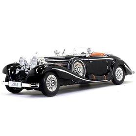 Maisto 36055 Mercedes Benz 500 K Typ Specialroadster 1936, svart