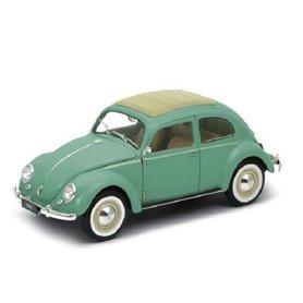 Welly 18040W Volkswagen Classic Beetle 1959, grön