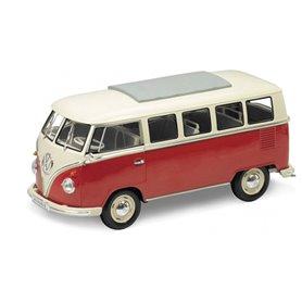 """Welly 18054 Volkswagen T1 Bus 1963, beige/röd """"Window Van"""""""