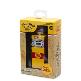 "Greenlight 14030B Vintage Gaspump ""Super Shell"""