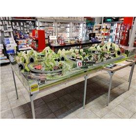 Tåg & Hobby Anläggning2 Komplett anläggning i H0 1:87 med Märklins C-Räls