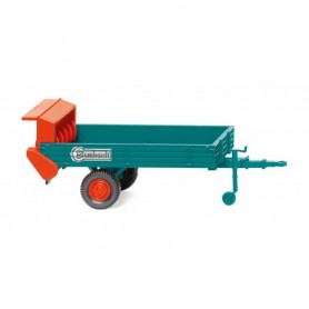 Wiking 88703 Manure spreader (Blumhardt) turquoise| red
