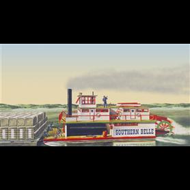 Lindberg HL201 Southern Belle Paddle Wheel Steamship