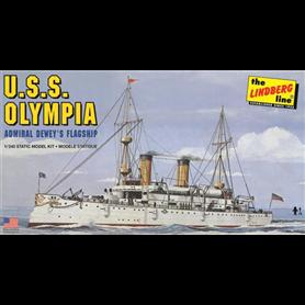 Lindberg HL402 USS Olympia