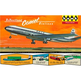 Lindberg HL512 Flygplan British Jetliner DeHavilland Comet