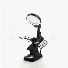 Helping Hands & LED Magnifier Workstation