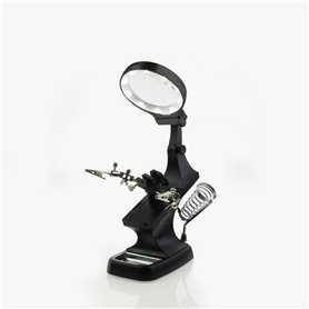 Model Craft PCL2400 Helping Hands & LED Magnifier Workstation