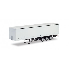 Herpa 076944 Curtain semitrailer with tail lifts