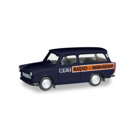 Herpa 095167 Trabant 601 Universal 'RFT Television'