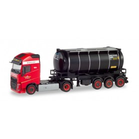 Herpa 311526 Volvo FH Gl. swap container semitrailer 'Den Hartogh' (NL)