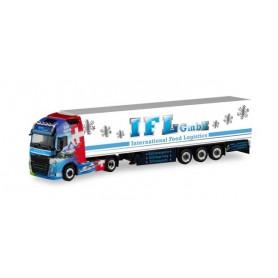 Herpa 311540 Volvo FH Gl. XL refrigerated box semitrailer 'IFL Köln | Volvo Schweiz'