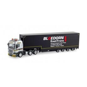 Herpa 311625 Scania R '13 Highline 6×2 volume semitrailer 'Bloedorn'