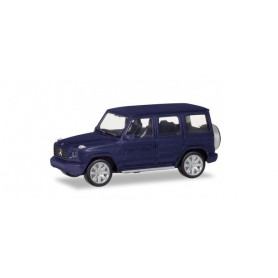 Herpa 430623-002 Mercedes-Benz G-Model, silver metallic