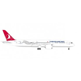 Herpa Wings 534055 Flygplan Turkish Airlines Boeing 787-9 Dreamliner 'Maçka'