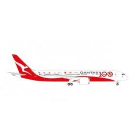Herpa Wings 534079 Flygplan Qantas Boeing 787-9 Dreamliner - 100th Anniversary 'Longreach'