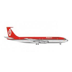 Herpa Wings 534093 Flygplan Avianca Boeing 707-300 'Sucre'