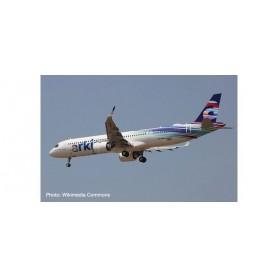 Herpa Wings 534109 Flygplan Arkia Israeli Airlines Airbus A321neo - Blue variant
