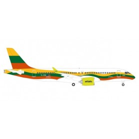 Herpa Wings 534123 Flygplan airBaltic Airbus A220-300 'Lithuania'