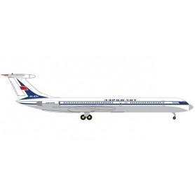Herpa Wings 534130 Flygplan Aeroflot Ilyushin IL-62M