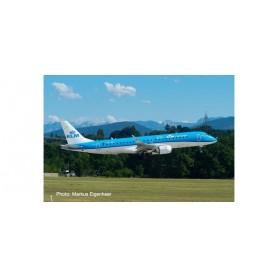 Herpa Wings 557580-001 Flygplan KLM Cityhopper Embraer E190